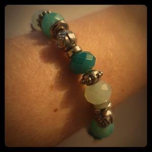 Jewelry - Bracelet in blue tones